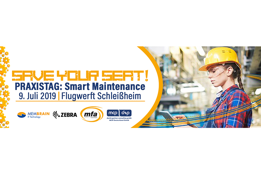 PRAXISTAG: Smart Maintenance, dankl+partner consulting, MCP Deutschland, Membrain