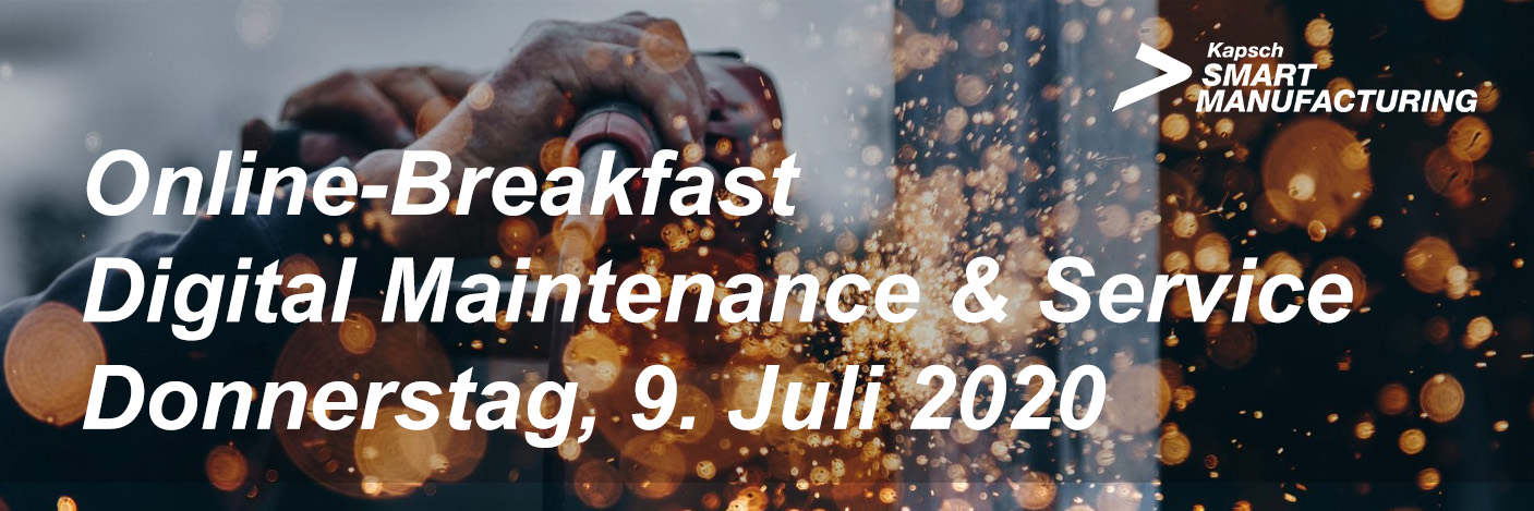 Banner Kapsch OnlineBreakfast Digital Maintenance & Service