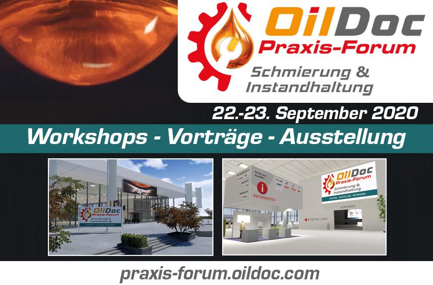 """OilDoc Praxis-Forum """"Schmierung & Instandhaltung"""""""