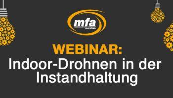 MFA Header Webinar Indoor-Drohnen Aerovision