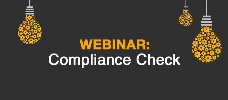 MFA Webinar: Compliance Check - ConPlusUltra
