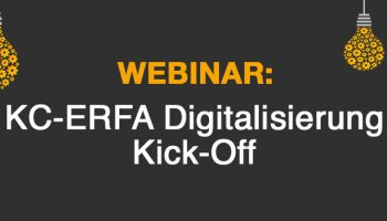 MFA Webinar: KC-ERFA Digitalisierung - Kick-Off
