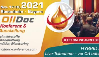 OilDoc Konference & Ausstellung 2021